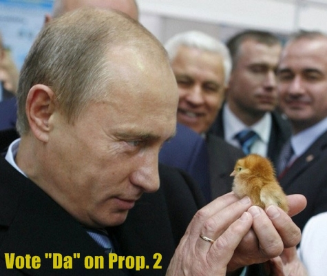Putin likes chicks.  Don't you?